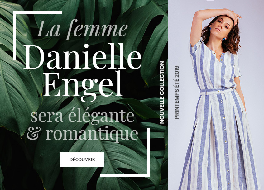 entete mobile - Danielle Engel | Vêtements femmes - Collection Printemps-Eté 2019