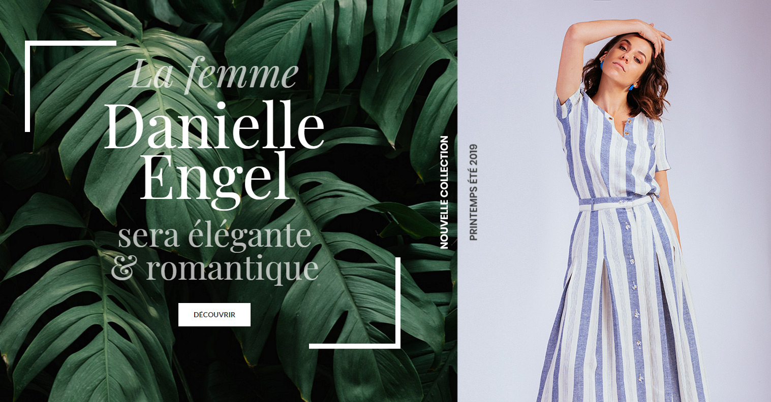 entete tablette - Danielle Engel | Vêtements femmes - Collection Printemps-Eté 2019