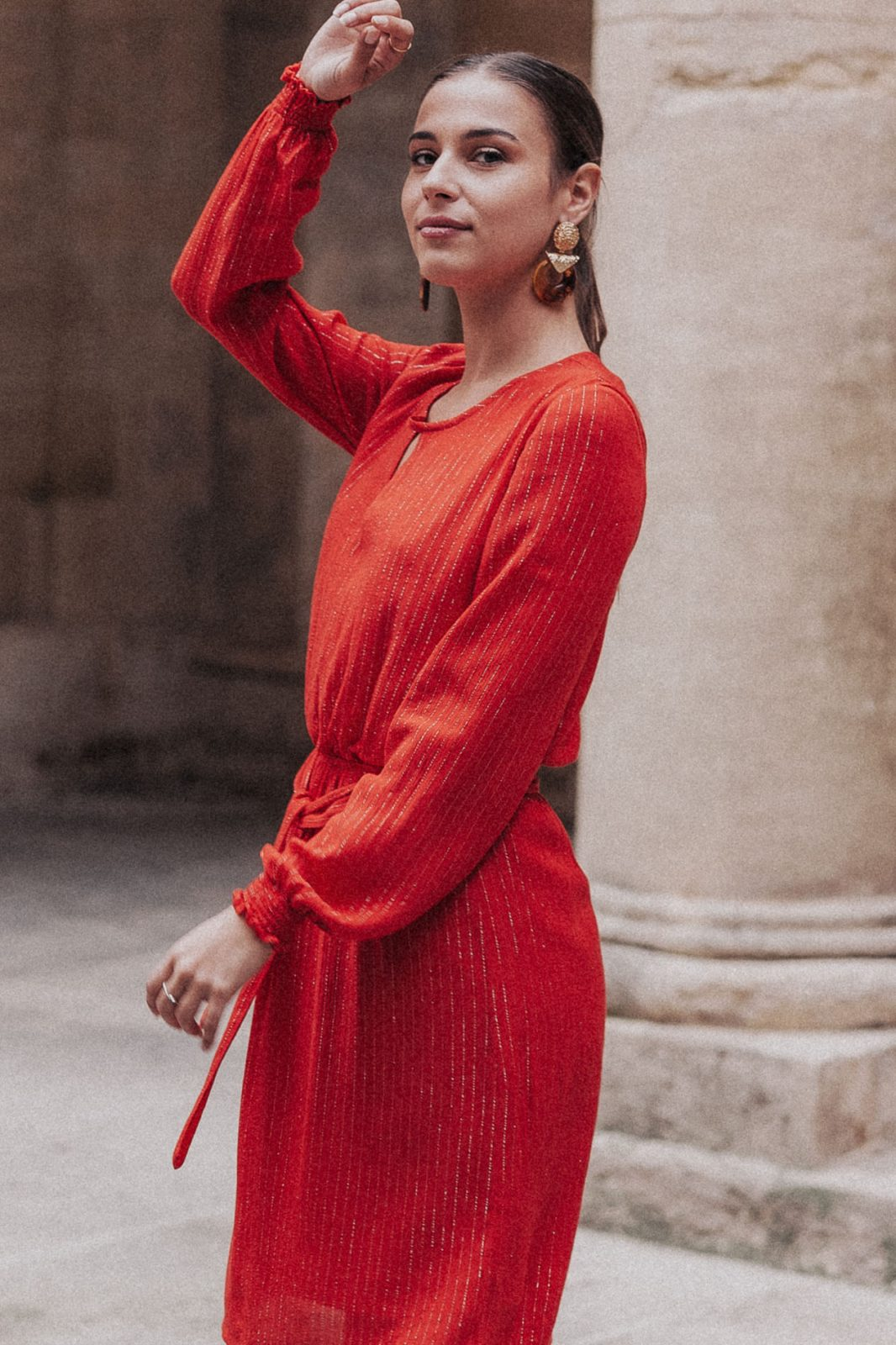 robes, nouveautes-automne-2019 - Robe Ayo rouge