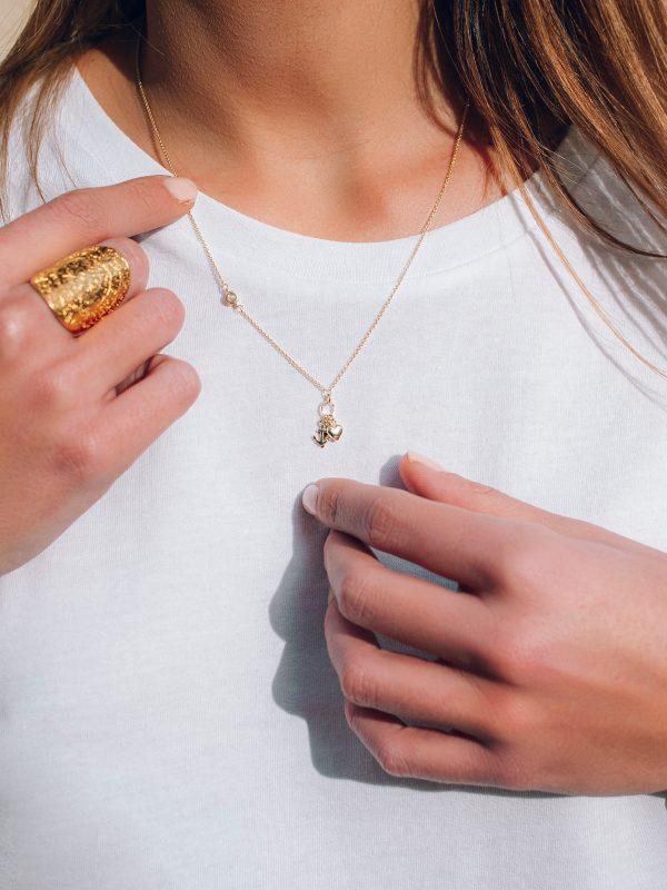 idee-cadeau, bijoux - Collier Aurore