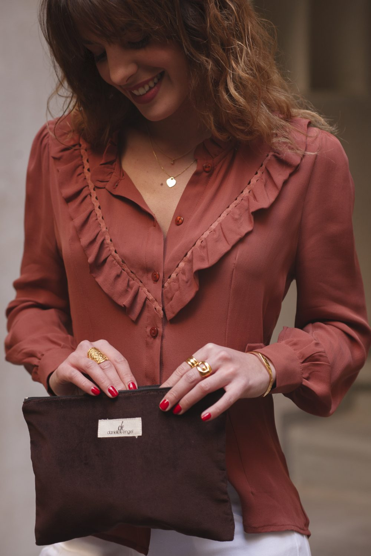 blouse en soie made in france