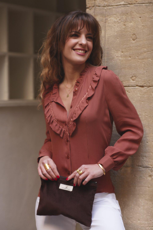 blouse en soie fabrication française