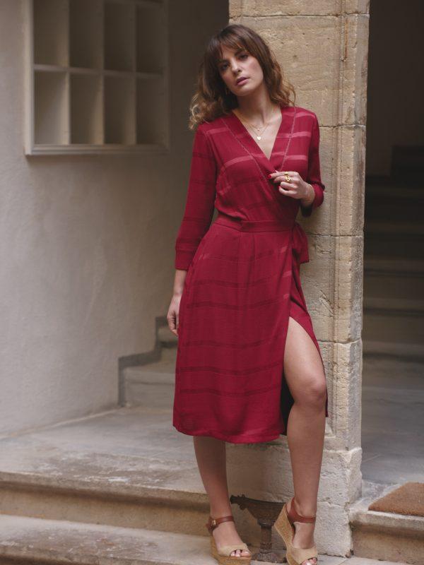 robe Athéna fabrication française