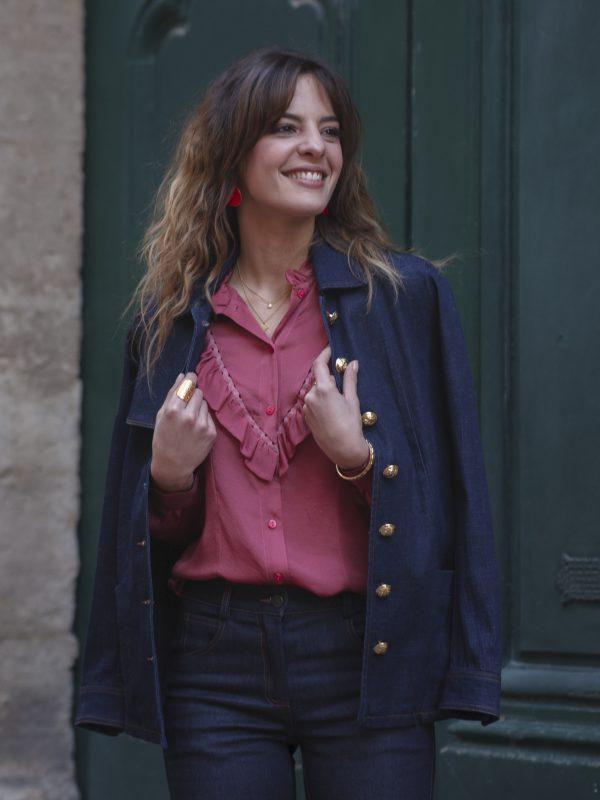 vestes-manteaux, nouveautes - Veste Owen jean