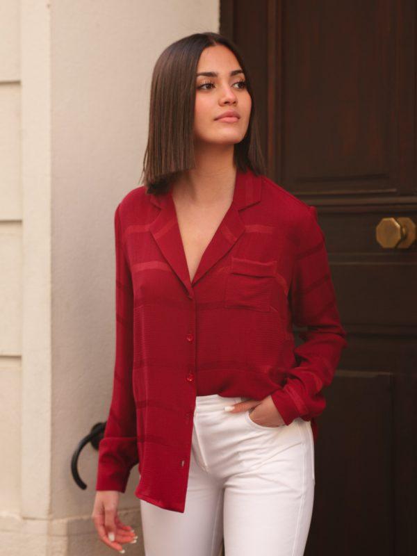 chemise Louise fabrication française pour une mode éthique