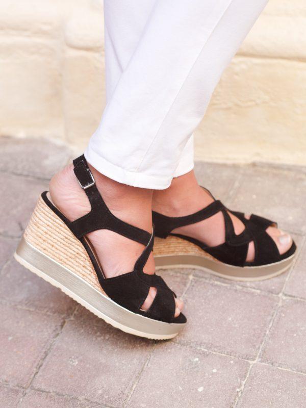 chaussures en cuir style bohème