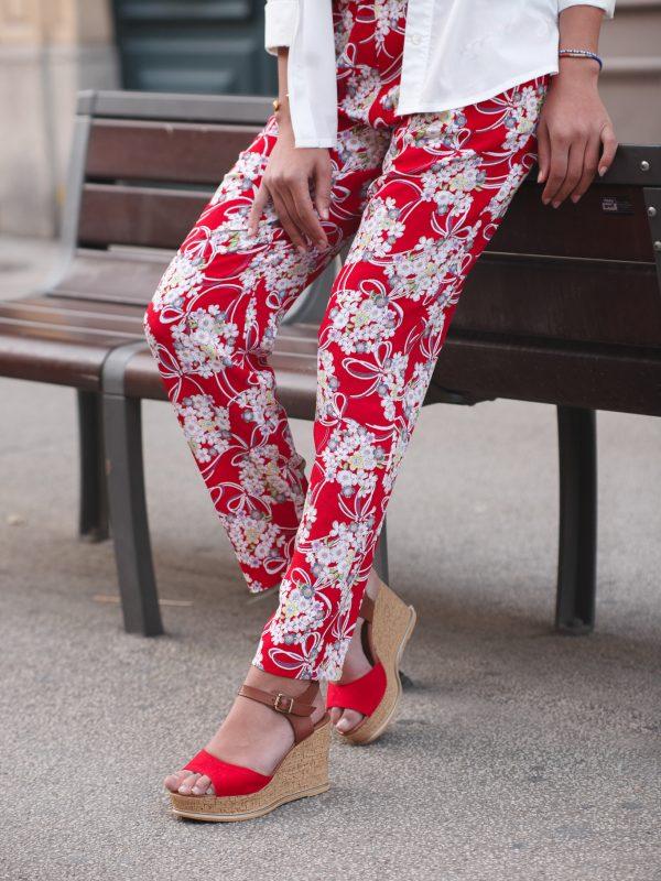 pantalon en tissu japonais
