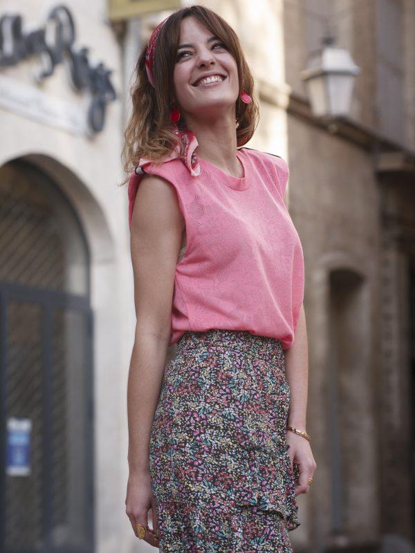 jupe colorée made in France