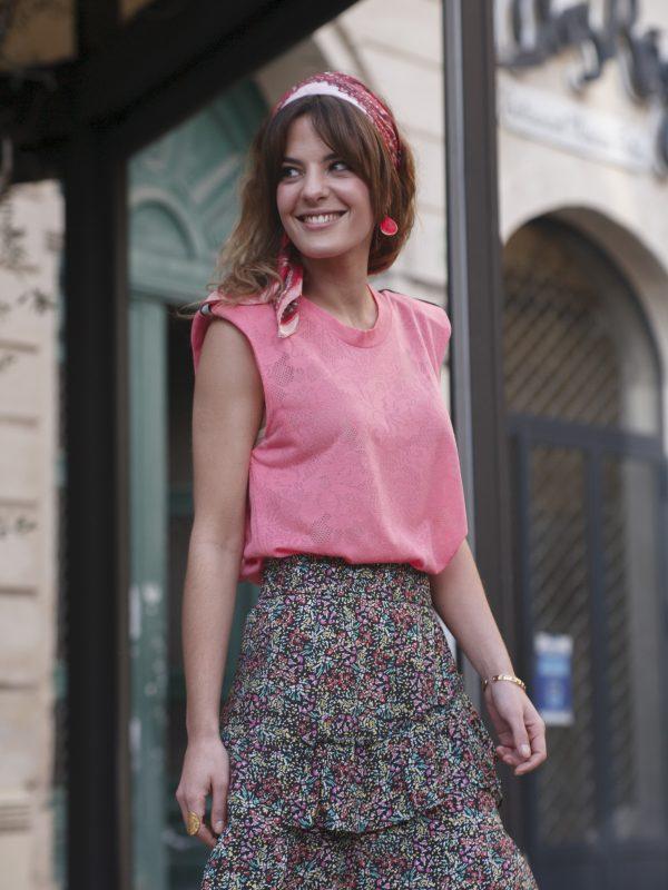 nouveautes, jupes-shorts - Jupe Eryne colorée