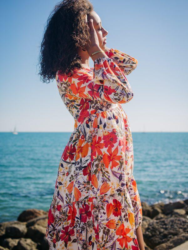 robe en tissu ecovero pour une mode éthique