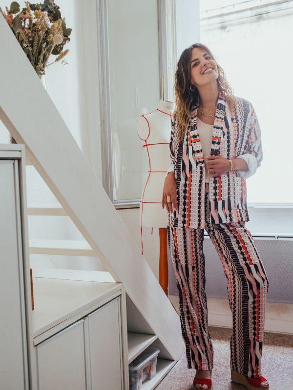 veste kimono femme imprimé ethnique
