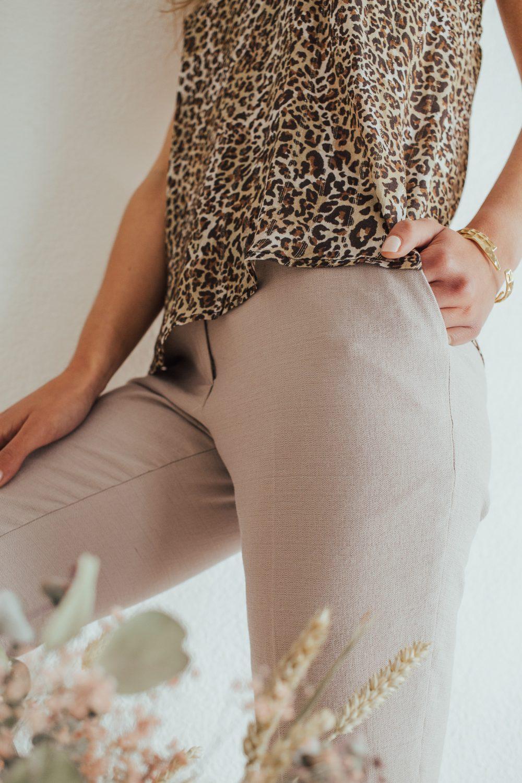 pantalon femme coupe cigarette