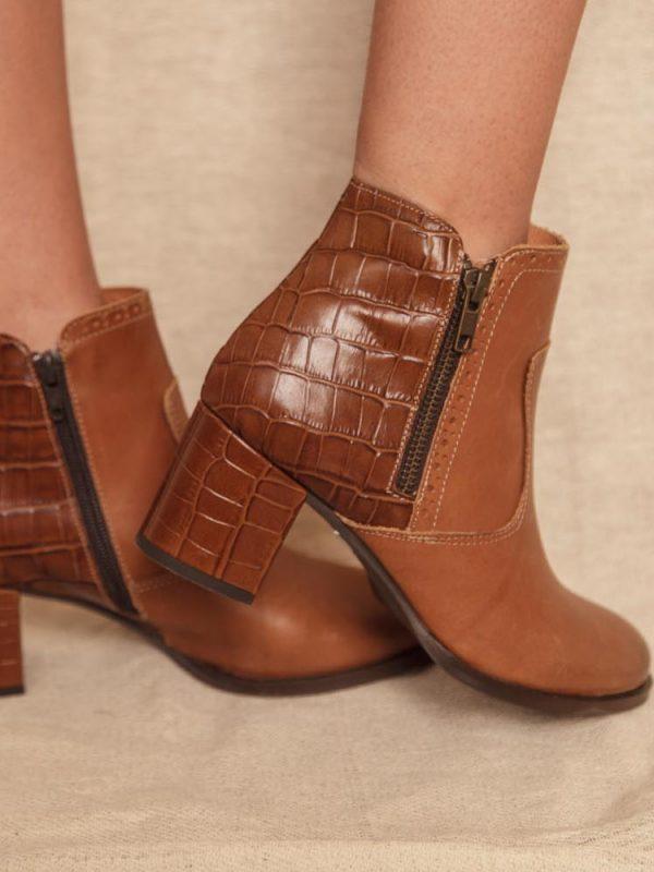 bottines cuir très élégantes et confortables