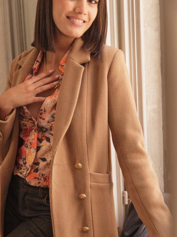 manteau made in france en laine