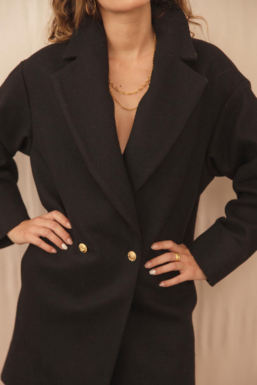 manteau en laine et cachemire recyclé pour une mode éthique
